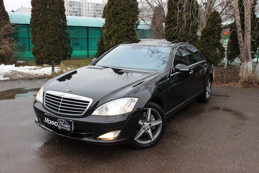 Mercedes 221 S500 4 matic